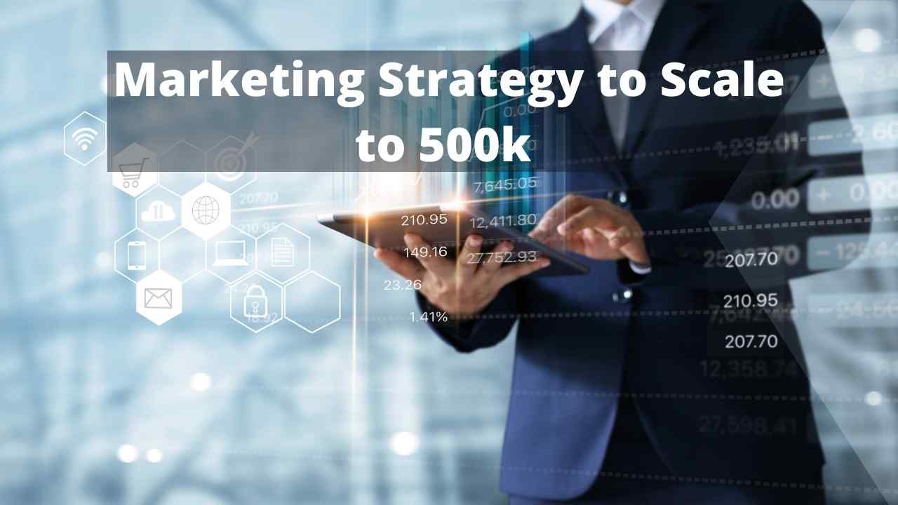 Marketing Strategy to Scale to 500k